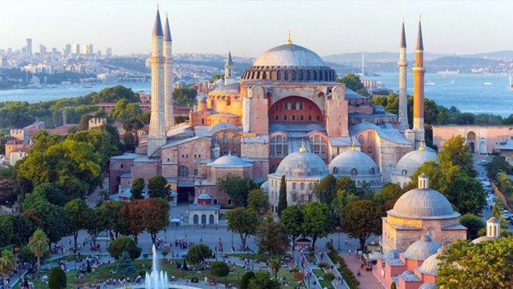 Đền thờ Santa Sofia ở Thổ Nhĩ Kỳ