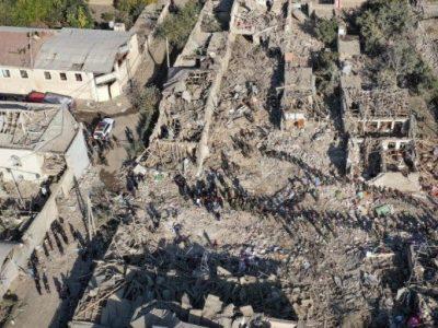 Nagorno-Karabakh uno dei villaggi distrutti dal conflitto